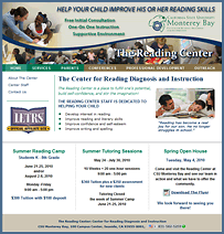 Reading Center Website